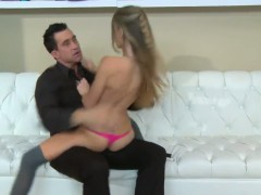 Slim Staci Silverstone on dick and hot tongue